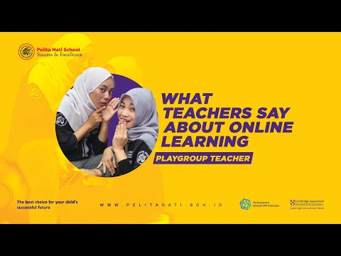What Teachers Say About Online Learning - Playgroup Teacher