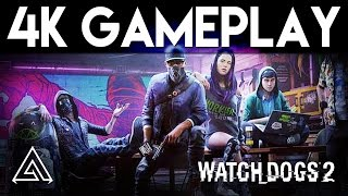 Watch Dogs 2 | PS4 Pro 4K Gameplay Part 1