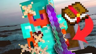 How to BUILD A GOD-TIER SWORD with Enchantments in Minecraft!