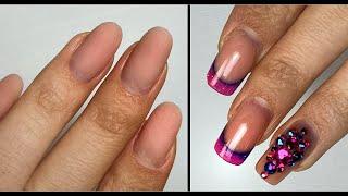 Какой же дизайн я выбрала для своих ногтей Экспресс маникюр
