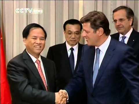 Chinese premier visits Piraeus Port in Greece