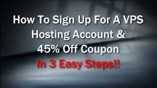 How To Sign Up For A VPS Hosting Account 2014: Signing Up For A Cheap Linux Vps Server Hosting