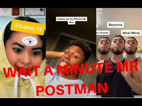 WAIT A MINUTE MR POSTMAN | PLEASE MR POSTMAN | TIKTOK COMPILATION