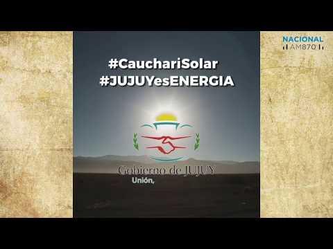 En exclusiva te presentamos el vídeo institucional del Parque Solar Cauchari