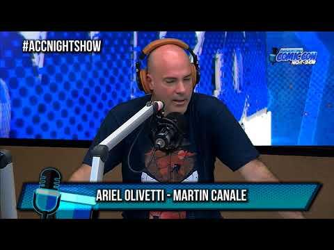 Martín Canale y Ariel Olivetti en Vorterix - Entrevista