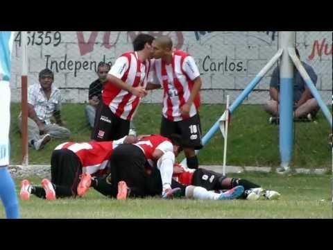 San Carlos 1 - 0 Chilecito. Gol de José Mocayar