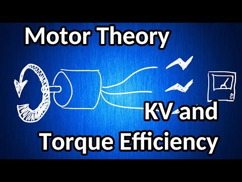 Brushless motor theory 01 - KV and torque efficiency