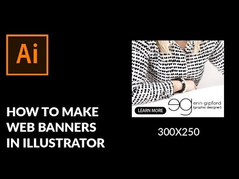 How To Make Web Banners in Illustrator - Learn Adobe