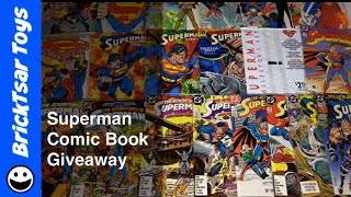 *CLOSED* Superman Comics Giveaway!  Man of Steel, Doomsday and more comic books