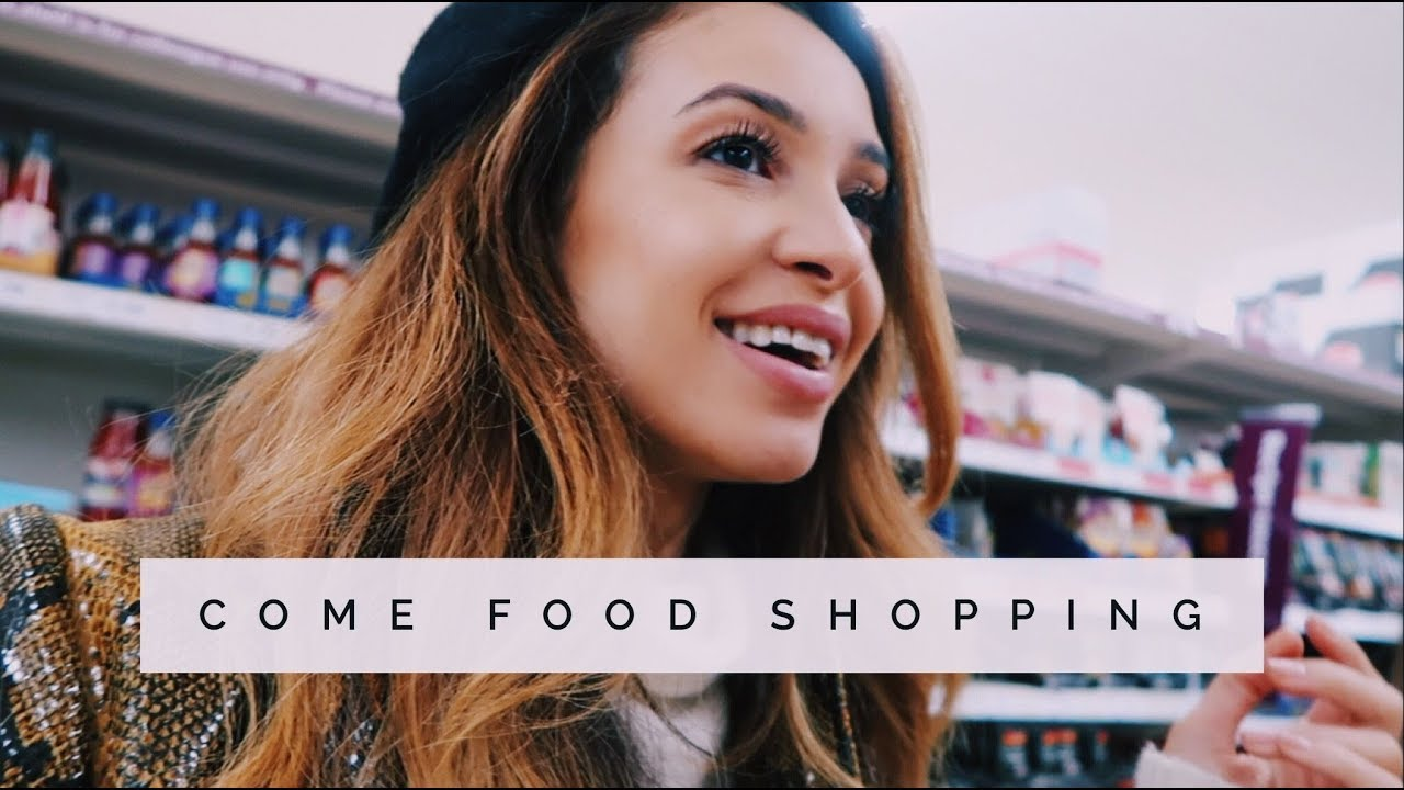 COME FOOD SHOPPING WITH ME   Danielle Peazer - YouTube