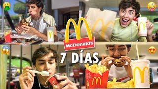 Gambar cover Una SEMANA COMIENDO en McDonalds ! XAM