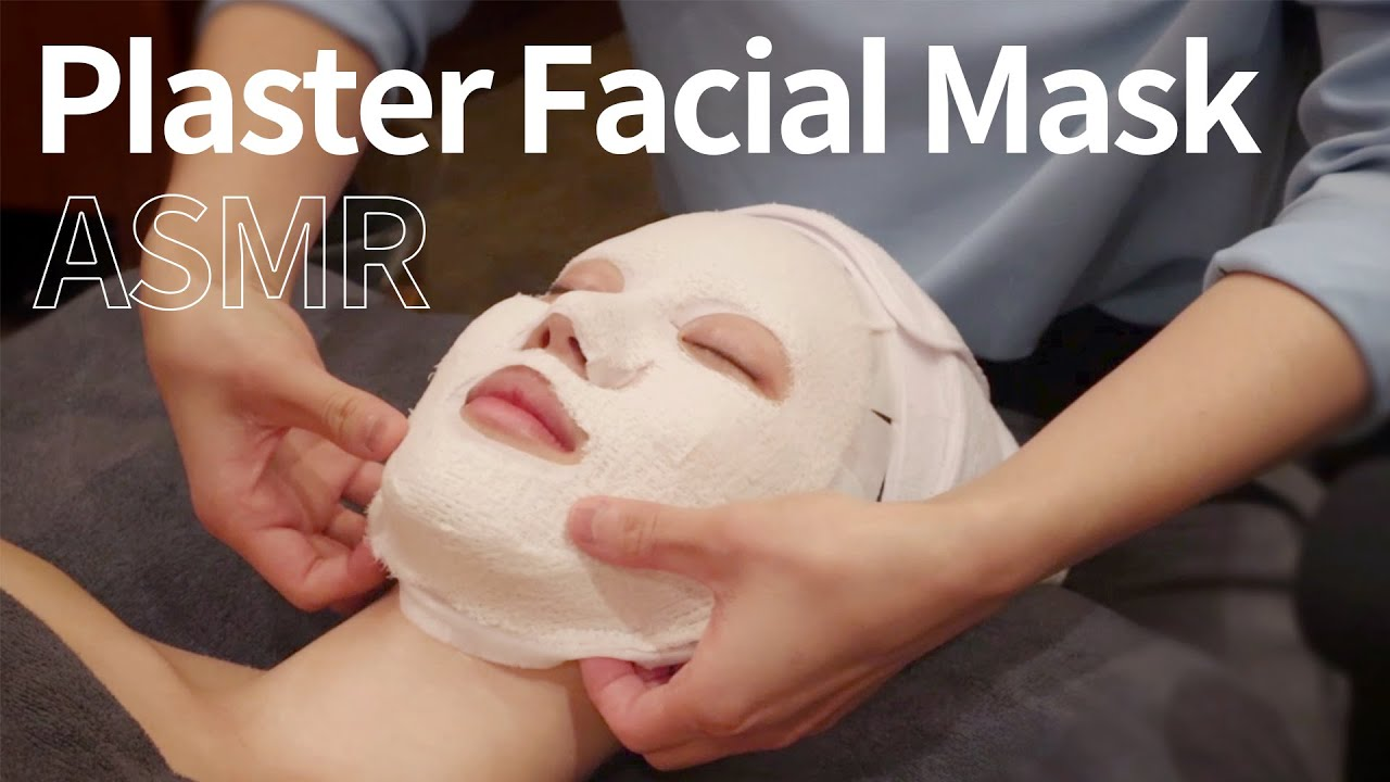 [스파 체험 ASMR] MTS 모공케어 & 석고마스크 | Korean Spa Facial Treatment | no talking