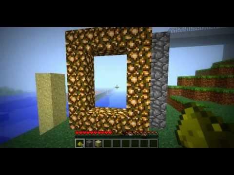 Minecraft Intento De Un Tutorial Para Abrir Un Portal