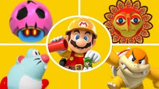 Super Mario Maker 2 - New Course Elements Gameplay