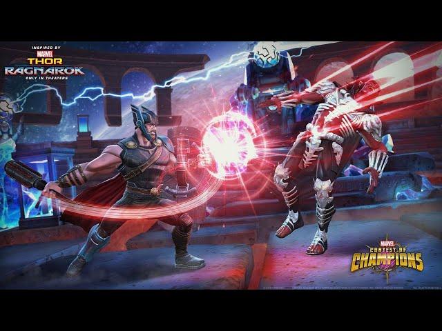 Marvel Contest of Champions Thor (Ragnarok) Spotlight