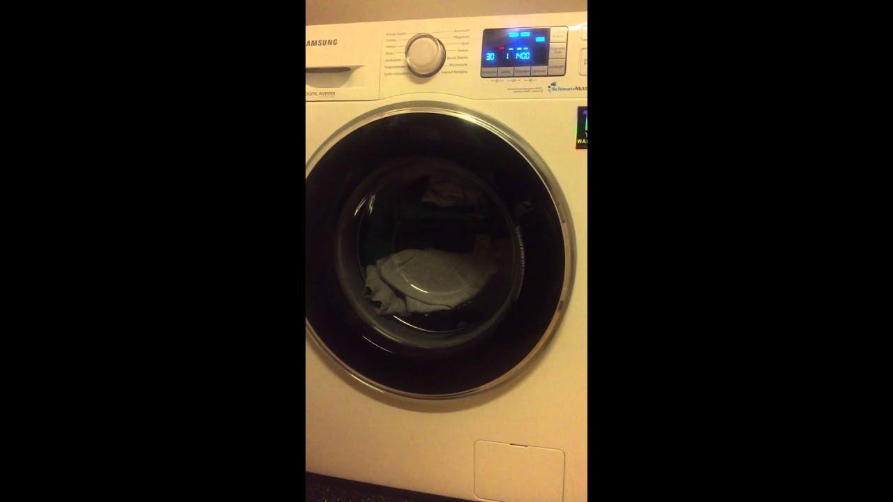 samsung wf70f5ebp4w waschprogramm startet nicht gel st. Black Bedroom Furniture Sets. Home Design Ideas