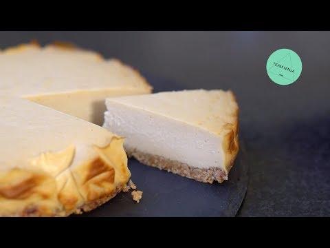 Baked Cheesecake (Vegan & Sugarfree)