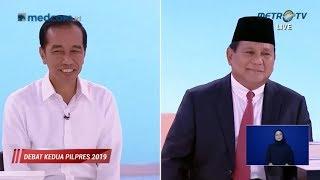 Debat Kedua Capres Part 4, Prabowo Merasa Sama Dengan Jokowi soal Kehutanan & Pertambangan
