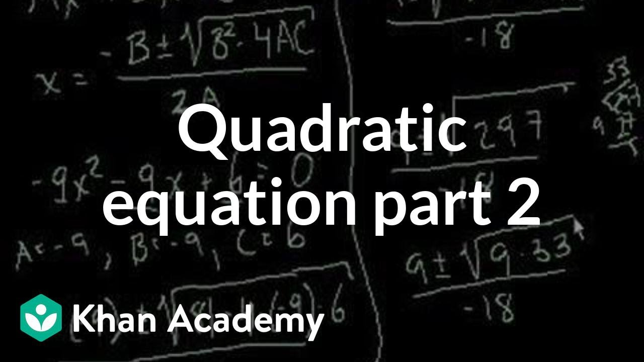 how to find the equation of a parabola khan academy
