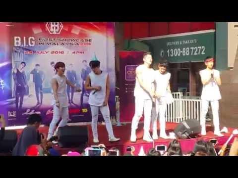 [240716] B.I.G (비아이지) - Hello (안녕하세요) [B.I.G 1st Showcase in Malaysia - Berjaya Times Square]