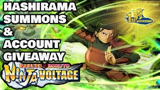 1st Anniversary GOD of Shinobi *Hashirama Summons* | Naruto X Boruto Ninja Voltage