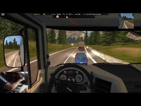 Euro truck simulator 2 Gameplay ITA #27 da milano a bern mario maps