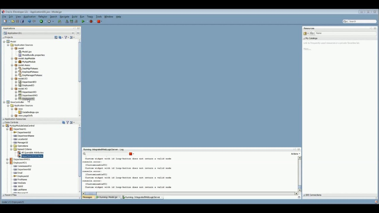 Oracle ADF Part 12- Creating List Of Values