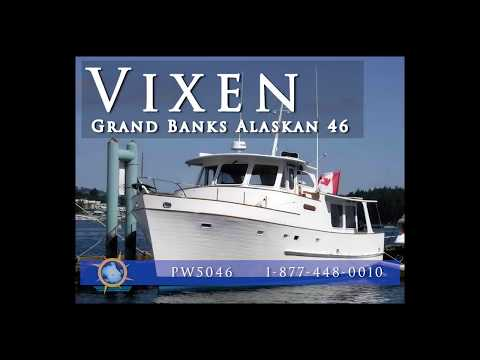 Trawler Yacht For Sale - American Marine Grand Banks Alaskan 46
