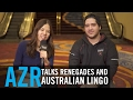Azr talks renegades performance and gets quizzed on some aussie lingo mp3
