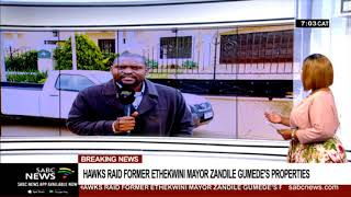 Hawks raid former eThekwini mayor Zandile Gumede's properties