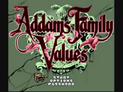 Addams Family Values SNES music - Creepy Creatures