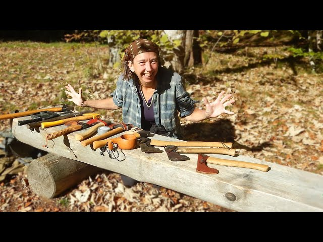 Playing with Axes, Bushcraft Hatchets