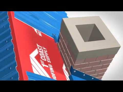 Chimney Flashing Installation - 1st Coast Metal Roofing Supply