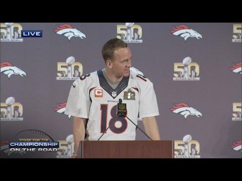 Snoop Dogg reports at Super Bowl, asks Peyton Manning for Papa John