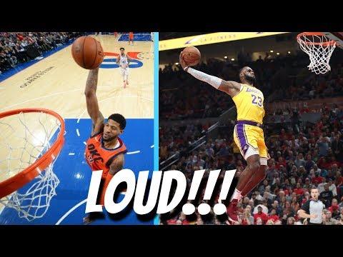 nba-loudest-dunks!-(2018-2019)