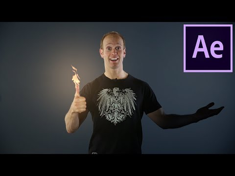 Fire Hands - How to Create Fire with your Hands in After Eff