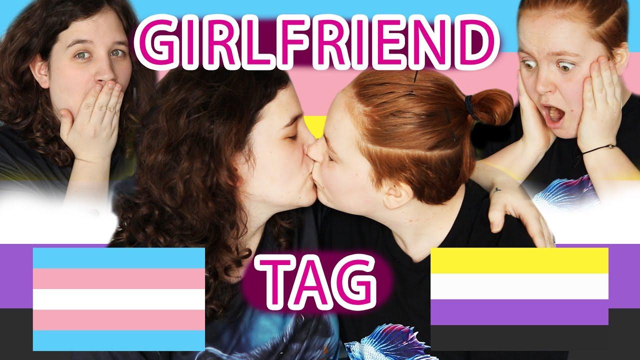 The Girlfriend Tag! | TRANS EDITION ( MtF x FtNB )