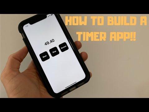 SWIFT HOW TO | EASY TIMER APP TUTORIAL! thumbnail