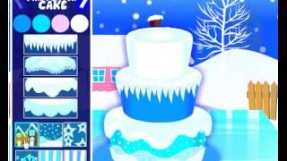 Winter Cake Baking Game