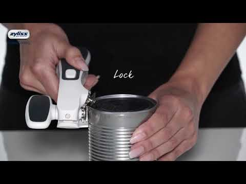 ZYLISS Lock N' Lift 7 Manual Handheld Can Opener with Locking Mechanism
