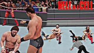 Daniel Bryan & Brie Bella vs The Miz & Maryse Hell in a Cell 2018 Mixed Tag Match (WWE 2K18)