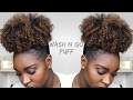 HOW TO: Wash N Go Puff | Type 4 Hair