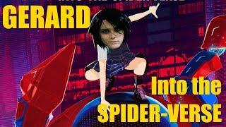 El papel de GERARD WAY en Spider-Man: Into The Spider-Verse
