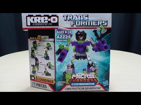 Kre-O Micro Changers Combiners DEVASTATOR: EmGo Builds Stuff