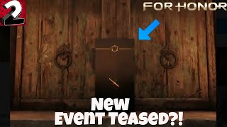 For Honor- April Fools Event Teased?? (New Event)