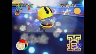 Pac-Man World Rally PlayStation 2 Gameplay - Retro Maze