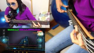 ROCKSMITH Audrey (10) Plays Bass - Limelight - Rush - 98% ロックスミス