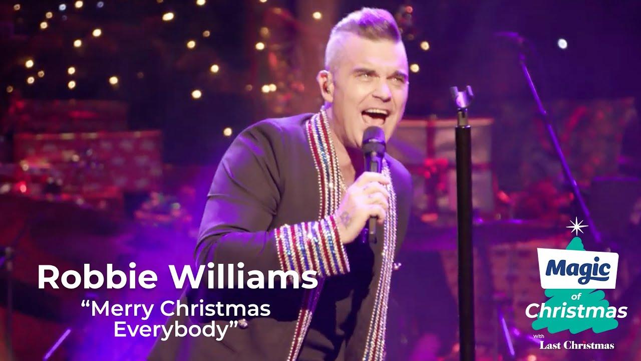 "Robbie Williams | ""Merry Christmas Everybody"" | Magic of Christmas 2019 - YouTube"
