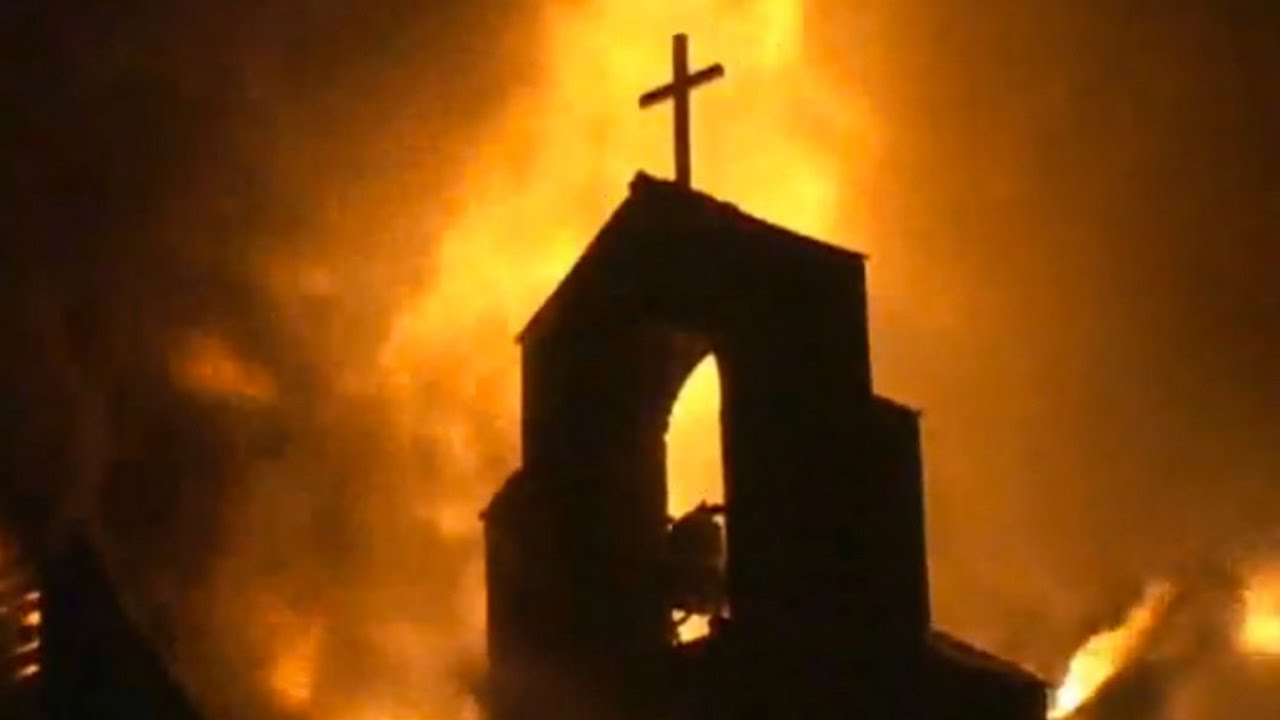 Five Black Churches Have Burned To The Ground In One Week - YouTube