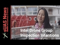 Intel Drone Group and inspections